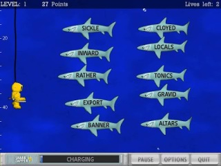Typer shark deluxe game review download and play free version!